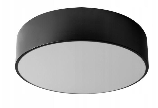 LAMPA PLAFON okrągła Czarna / Biała ŻYRANDOL rozmiary