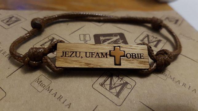 """Bransoletka """"Jezu ufam Tobie"""""""
