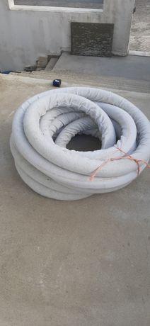 Tubo drenagem com manga geotestil