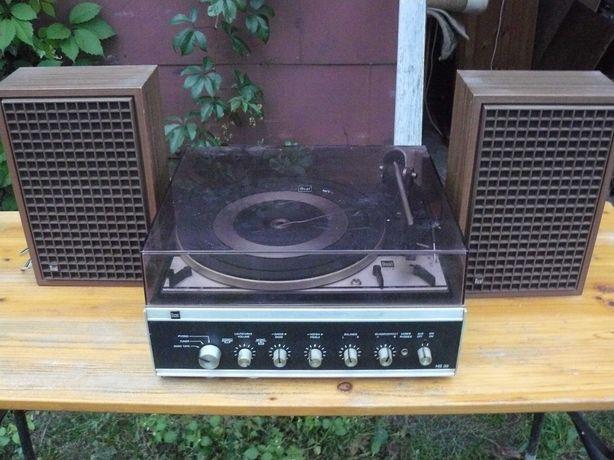 Gramofon Dual HS 39 z głośnikami .
