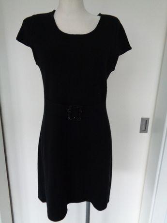 Czarna elegancka sukienka Monnari rozm. -38 - M -