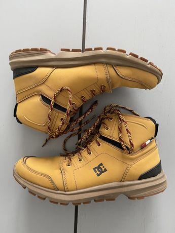 DC buty skórzane trapery męskie żółte Torstein r. 40 /25,5cm
