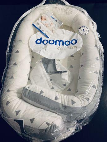 Alcofa doomoo - Babymoov Redutor de Cama Cocoon Doomoo Cinza