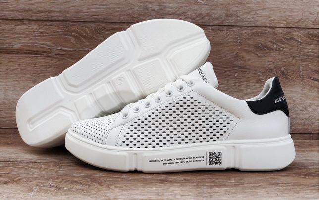 Мужские кроссовки Alexander McQueen. Натуральная кожа