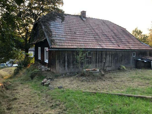 Dom drewniany z bali, stary do przeniesienia, rozbiorki