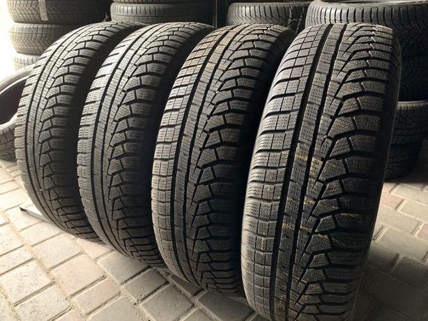 зима 215\70\R16 2017г 7,2мм Hankook 4шт шины шини