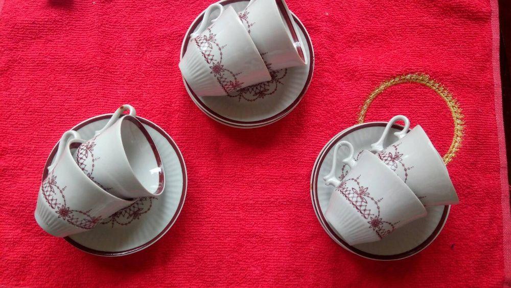 Набор кофейных чашек СССР Граница - изображение 1