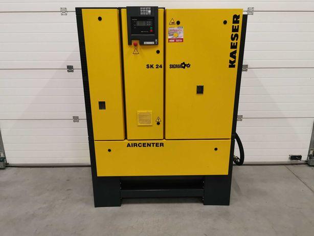 Kompresor śrubowy 15kw KAESER sprężarka 2200l/min +OSUSZACZ, ZBIORNIK