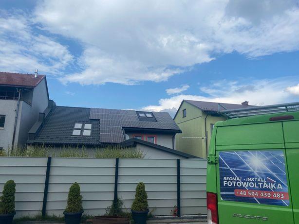 Instalacja panele fotowoltaiczne 4,44KW Fotowoltaika, Panele słoneczne