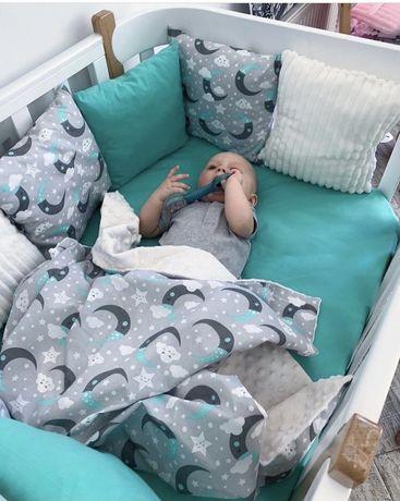 Бортики постельное комплект