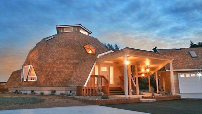 Купольные дома - архитектура будущего