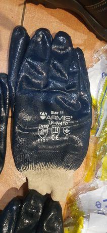 Перчатки нитриловые с узким манжетом