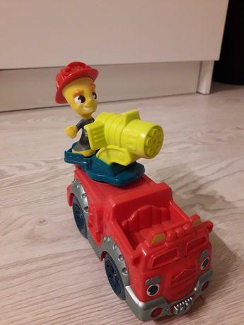 Wóz strażacki auto straż bez ciastoliny