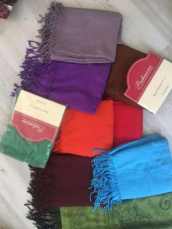 Pashmina 100% - lisas várias cores - NOVAS
