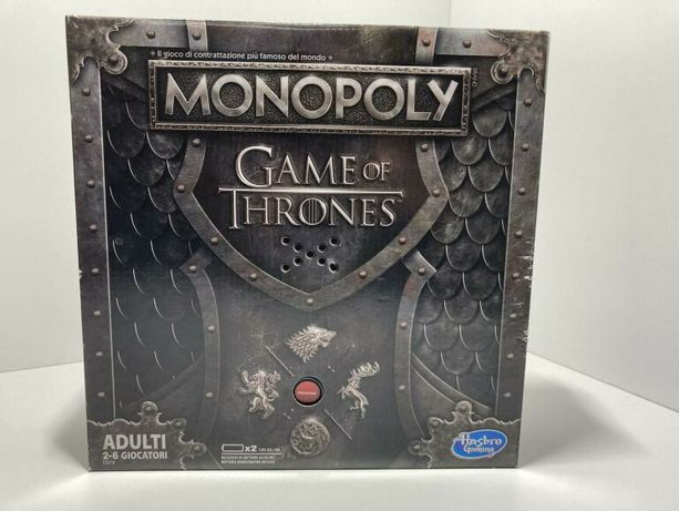 Gra monopoly Game of Thrones WERSJA WŁOSKA
