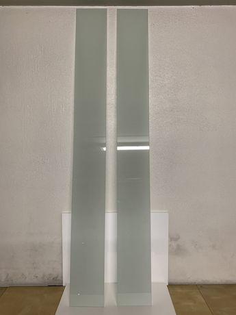 2 Vidros Laminados Branco Fosco