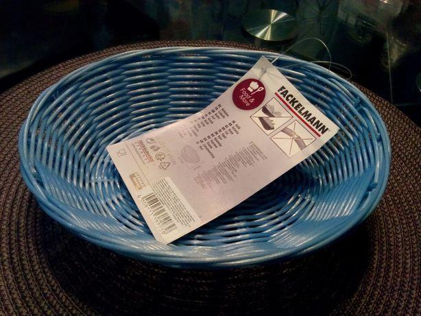 Кухня.Корзинка д/хлеба,пластик(голубой,беж)Бренд Fackelmann,Германия.