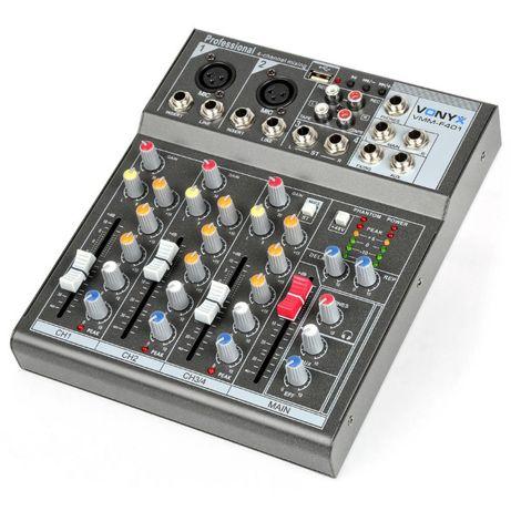 Mikser 4-kanałowy Vonyx VMM-F401