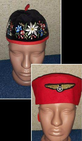 Головной убор тюбитейка пилотка стюардессы пилота