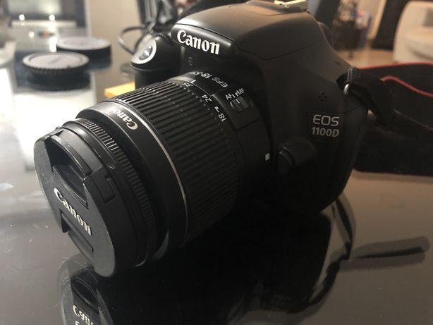 Canon 1100D + lente EFS 18-55mm
