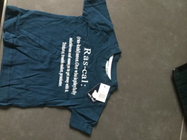 Koszulka krótki rękaw 6-12 miesięcy Primark