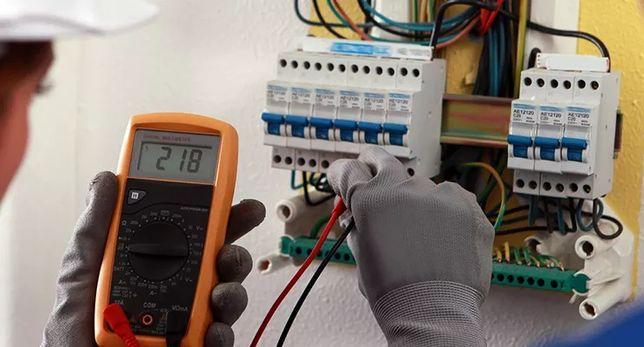executamos trabalhos de electricidade.