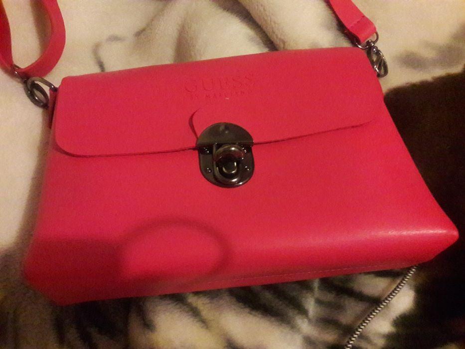 Nowa torebka Guess kolor różowy. Zawiercie - image 1