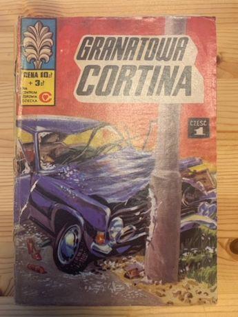 Kapitan Żbik Granatowa Cortina część 1 wydanie I rok 1978