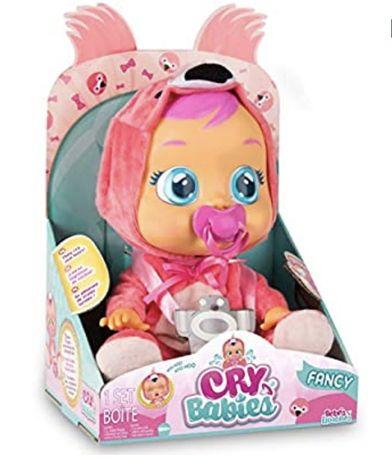 Оригинал! Интерактивная кукла Плакса Cry Babies Fancy Doll Фламинго
