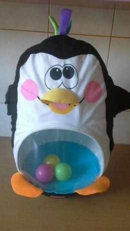 Dmuchany pingwin z piłeczkami Fisher Prince