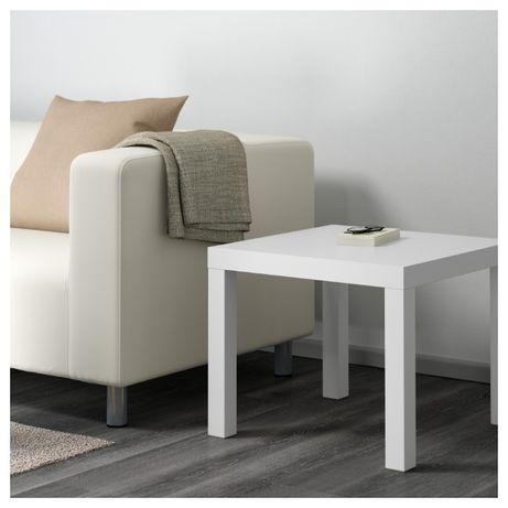 Придиванный столик Ikea Lack белый 55 х 55 см