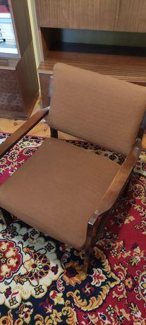 Fotel, PRL, vintage, oryginalny, do odświeżenia