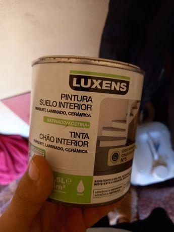 Lata de tinta para solo interior - Luxens