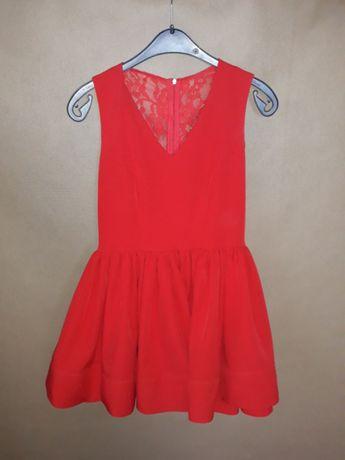 Czerwona sukienka XS Camilia Rh+ :) piękna !