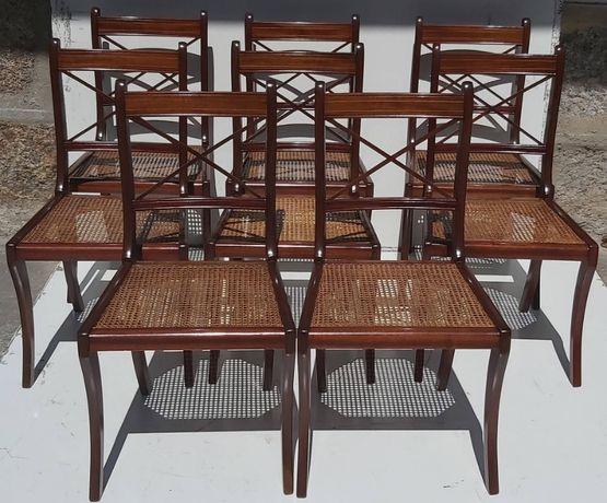 Conjunto 8 cadeiras