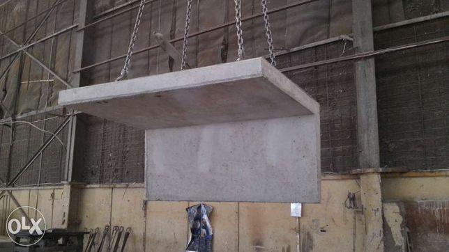 Elki betonowe, ściany oporowe