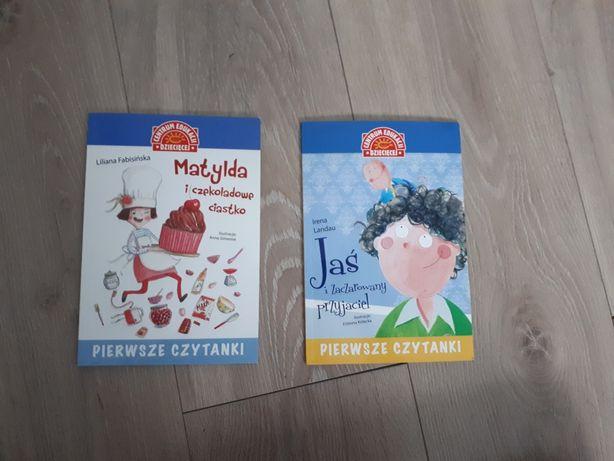 Książki Matylda i czekoladowe ciastko , Jaś i zaczarowany przyjaciel