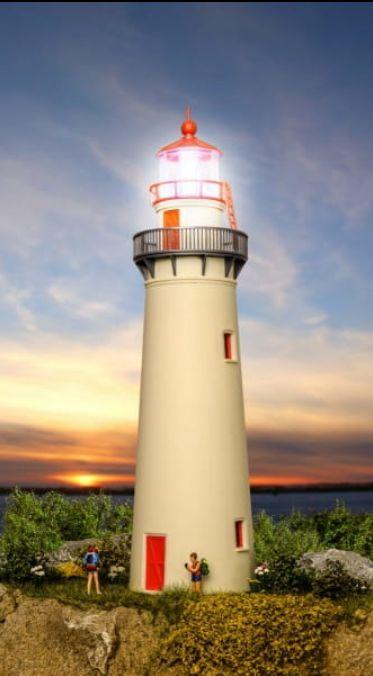Kibri 39170 H0 Latarnia morska z oświetleniem Led, wys. 223 mm Nowa Sól - image 1