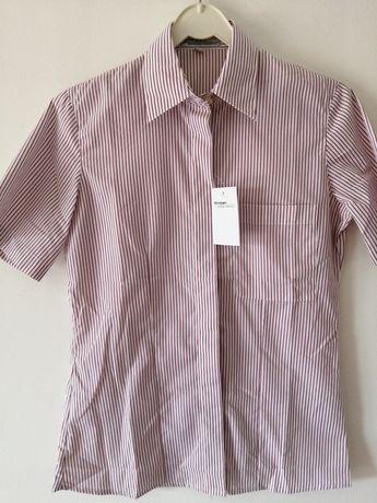 Camisa manga curta com etiqueta