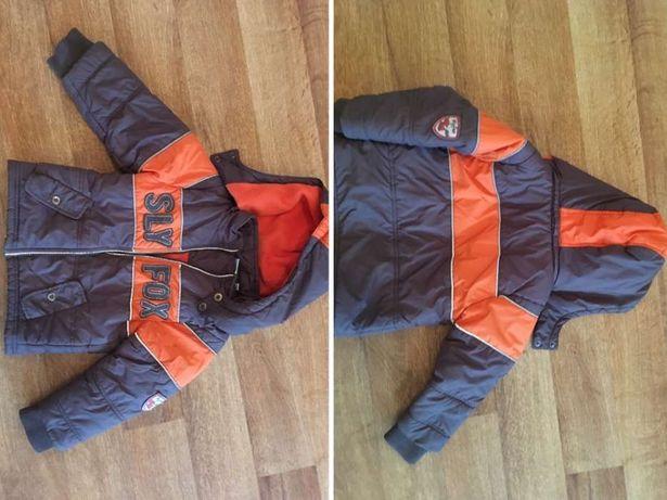 Куртка демисезонная холодная осень размер 92 на 2-3 года