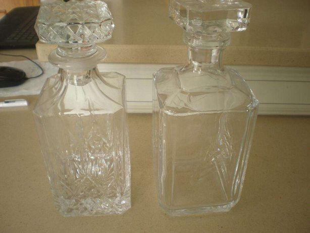 Garrafas vidro