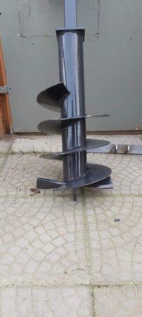 Wiertnica reczna do studni fi 230mm 10m +szlamówka