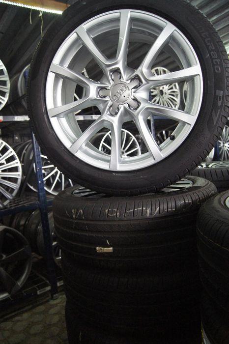 jak Nowe komplet koła lato Audi A6 C7 A7 8x18 ET 39 245/45r18 pirelli Wrocław - image 1