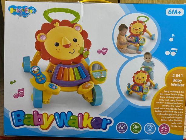 Ходунки толкатель baby walker 6+