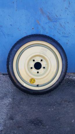 Mazda 3 bk 1,6di lift - koło dojazdowe 5 x 114,3 Toyo 115/70/15