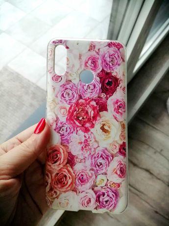 Etui sylikonowe Huawei P Smart 2019 nowe róże Etuo