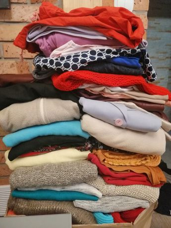 Ubrania spodnie bluzki kurtki S - 4XL