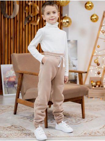 Теплые детские спортивные штаны