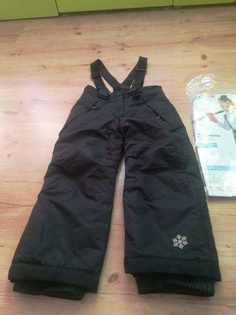 Spodnie na śnieg firmy lupilu rozmiar 98/104