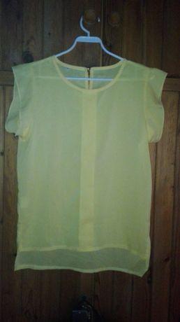 Bluzka damska M żółta używana za dezydorant meski